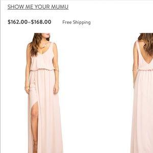 SHOW ME YOUR MUMU Kendall Maxi Dusty Blush